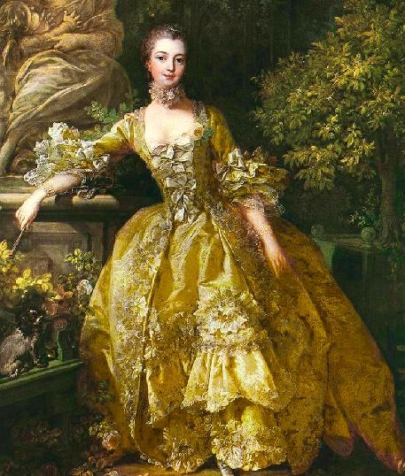 Rococo paintings Pompad10