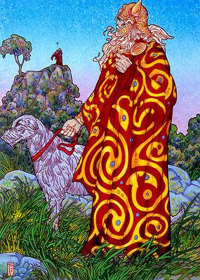 Irish Folklore Art  S-l40010