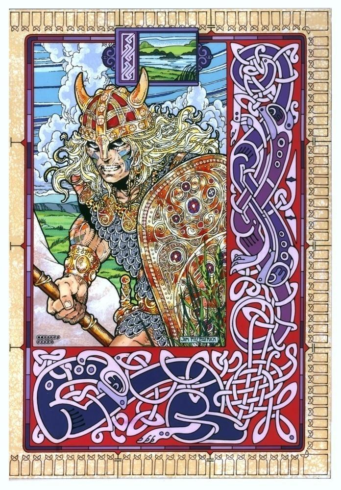 Irish Folklore Art  Streng10