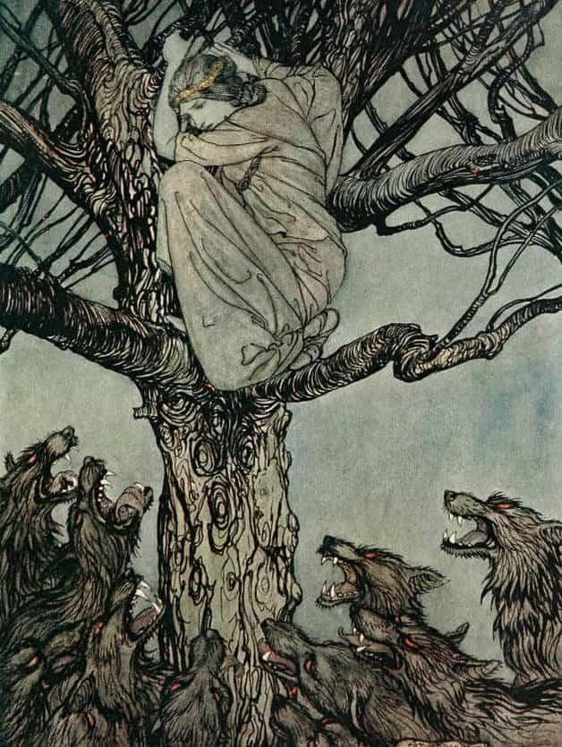 Irish Folklore Art  The-wo10