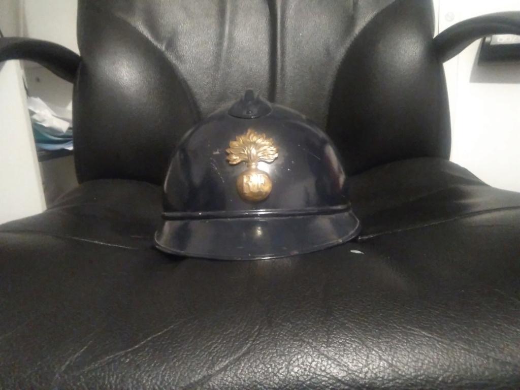 Casque ww1 gendarmerie estimation du prix svp.  15824817