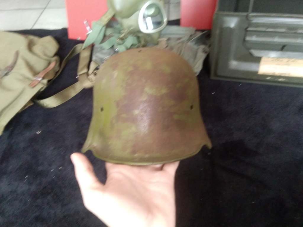 Casque all ww1 impacté estimation  15829711