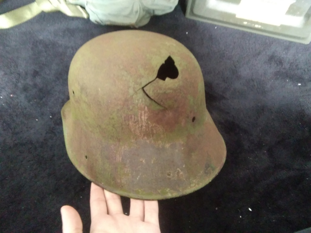 Casque all ww1 impacté estimation  15829713