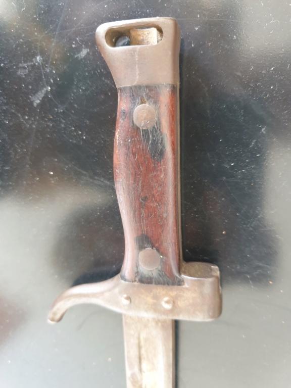 identification baionnette épée 20200431