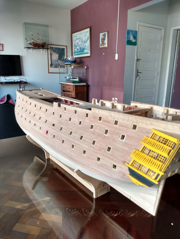 HMS Victory (plan Mamoli) par meloumarc - Page 6 Img_2054