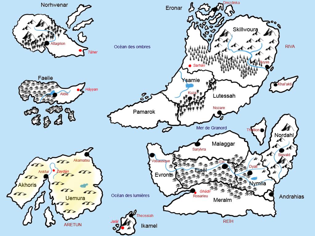 L'univers de Salandral Carte10