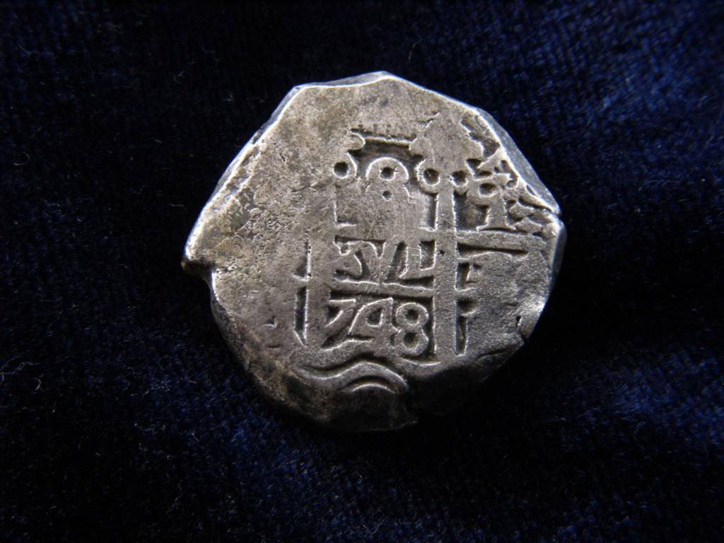 Identificación de ceca - 8 reales macuquinos de 1748 _1019311