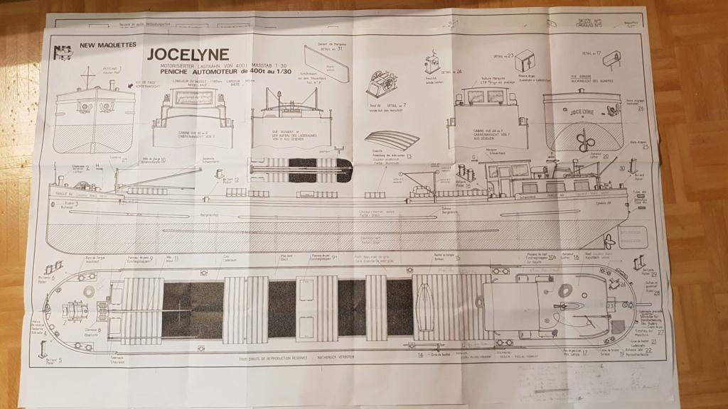 Péniche Jocelyne (Plan New Cap Maquettes Impression 3D) par manu3869 20201215