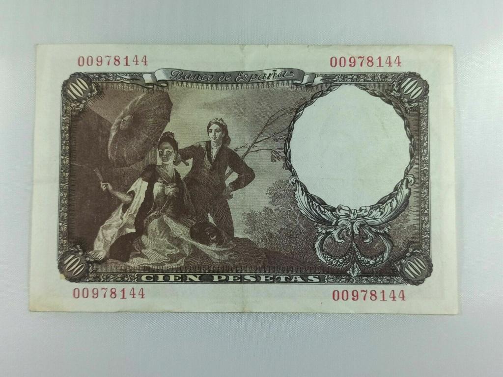 100 pesetas 1946 - duda estado y precio G211
