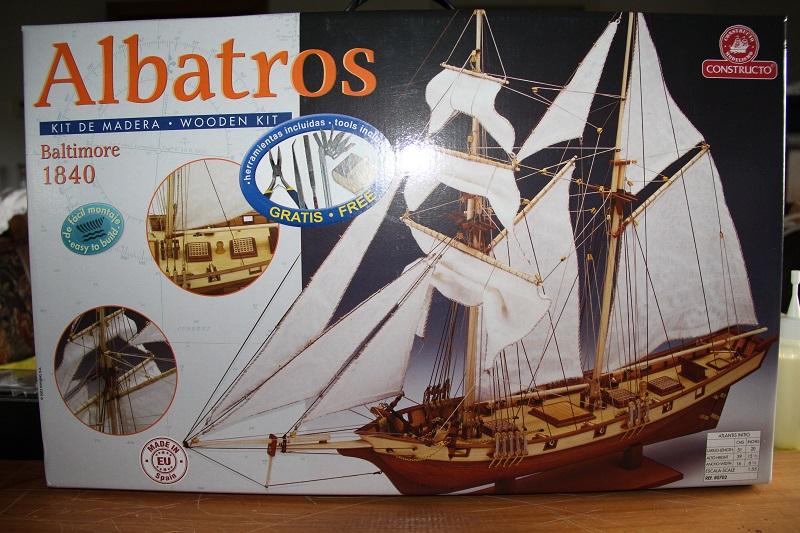 Albatros 1840 au 1/55 de CONSTRUCTO Kit10