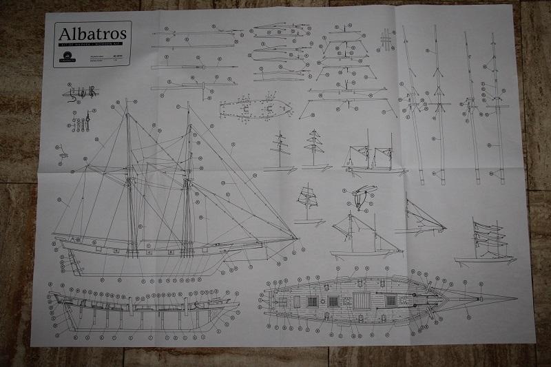 Albatros 1840 au 1/55 de CONSTRUCTO Plan10