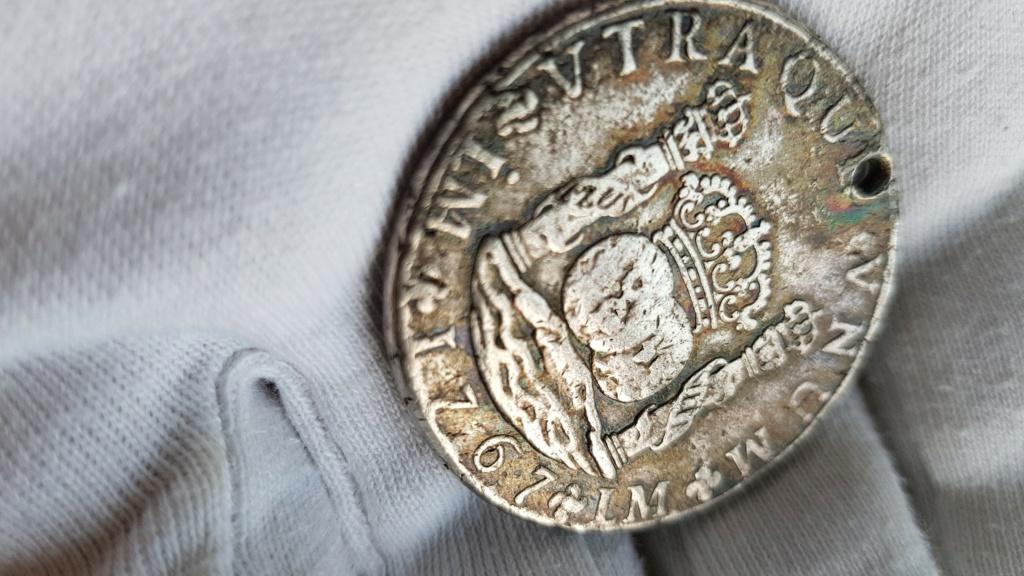 8 Reales Potosi 1824PJ. Fernando VII 00715