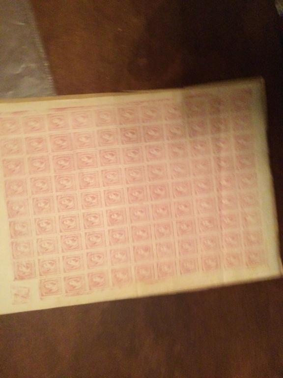 Correo Carlista.Hoja de sellos Carlos vii 1867 E4628c10