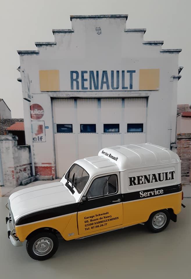 Renault 4L Assistance - Ebbro 1/24e 16721010