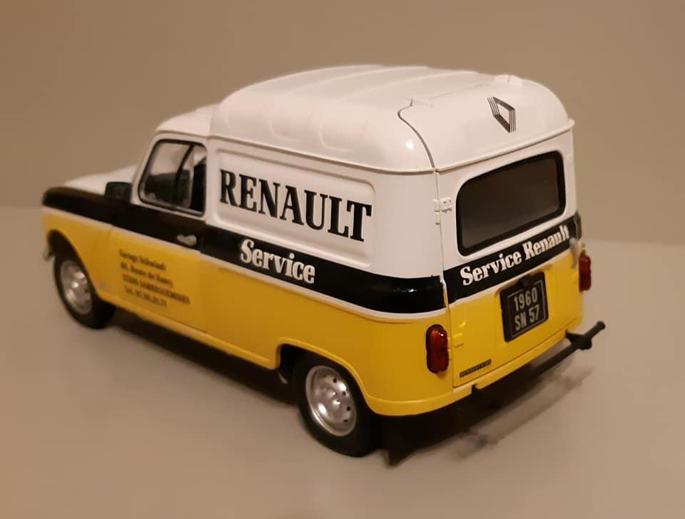 Renault 4L Assistance - Ebbro 1/24e 16743710