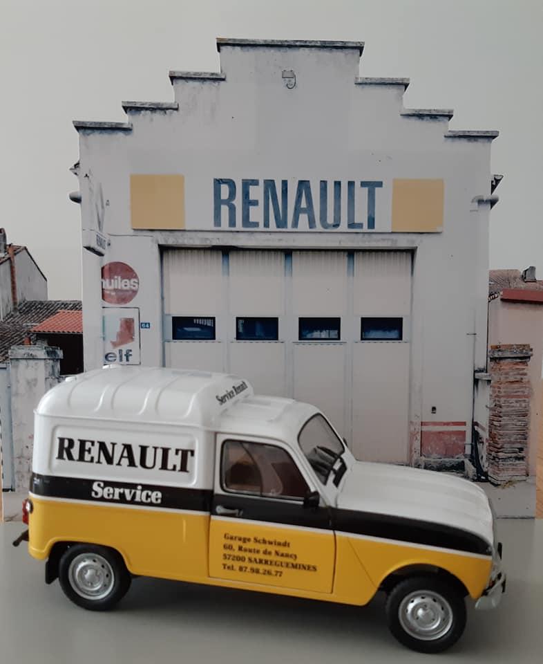 Renault 4L Assistance - Ebbro 1/24e 16752610
