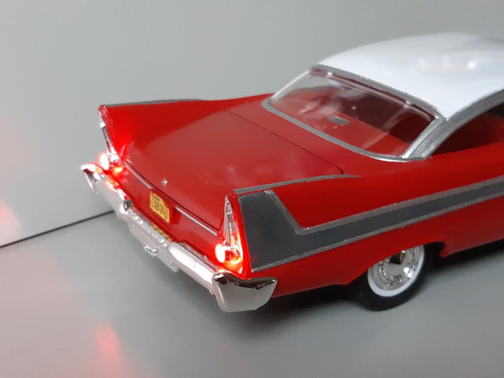 "Plymouth Fury ""Christine"" - AMT 1/25e 20200110"