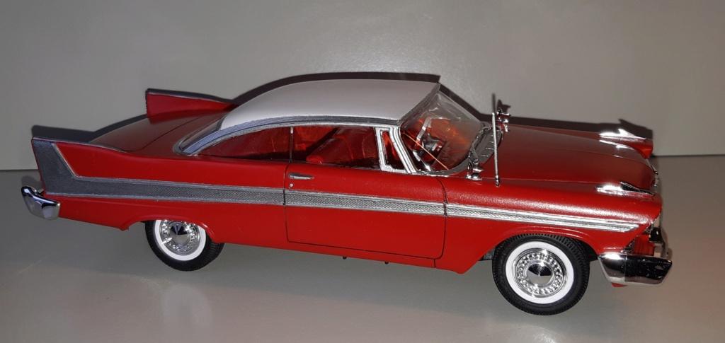 "Plymouth Fury ""Christine"" - AMT 1/25e 20200111"