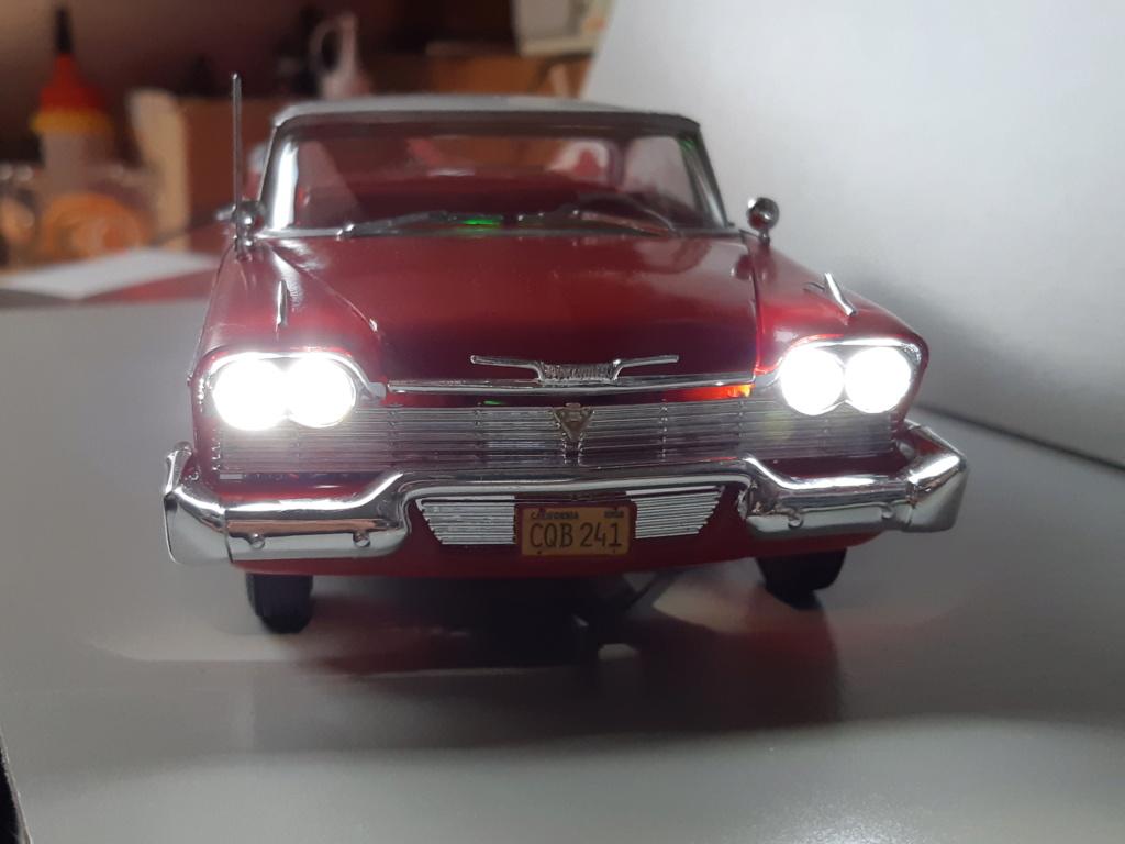 "Plymouth Fury ""Christine"" - AMT 1/25e 20200112"