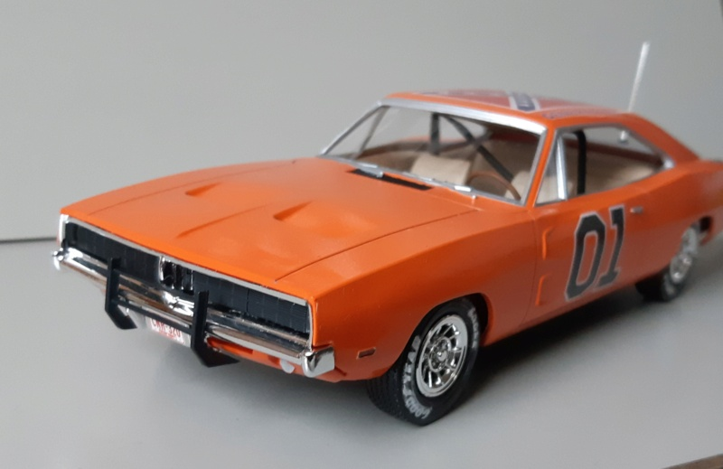 Dodge Charger '69 - AMT 1/25e 20200116