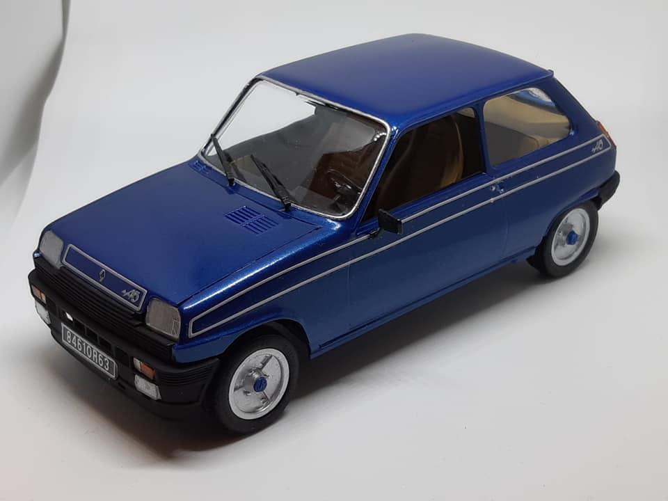 Renault 5 Alpine - Italeri 1/24e Maquet13