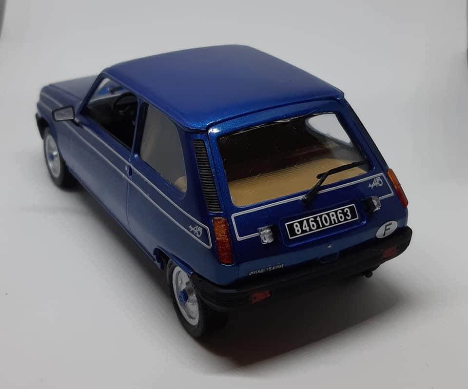 Renault 5 Alpine - Italeri 1/24e Maquet14