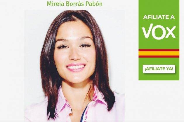 [EXCLUSIVA COPE] Mireia Borrás ocupará el segundo puesto de VOX en la lista para las Elecciones Europeas. Mireia10