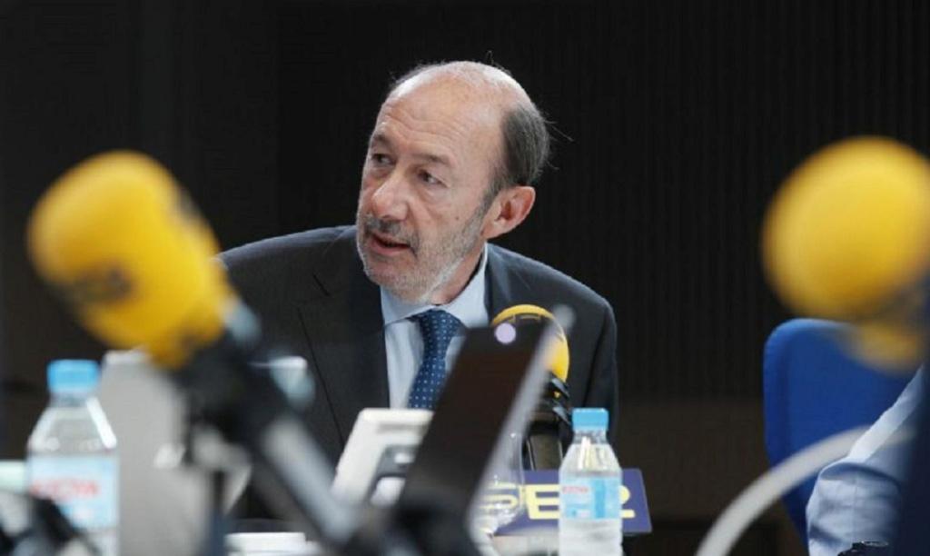 Herrera en Cope; entrevista a Alfredo Pérez Rubalcaba: ''Una victoria del PSOE en Europa supondrá el fin de los recortes´´ Rb10
