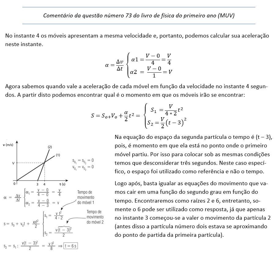 Tópicos de física questão 73 (MUV) Image_10