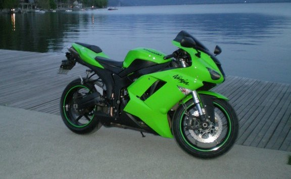 Vends ZX6R 2007 Annecy10