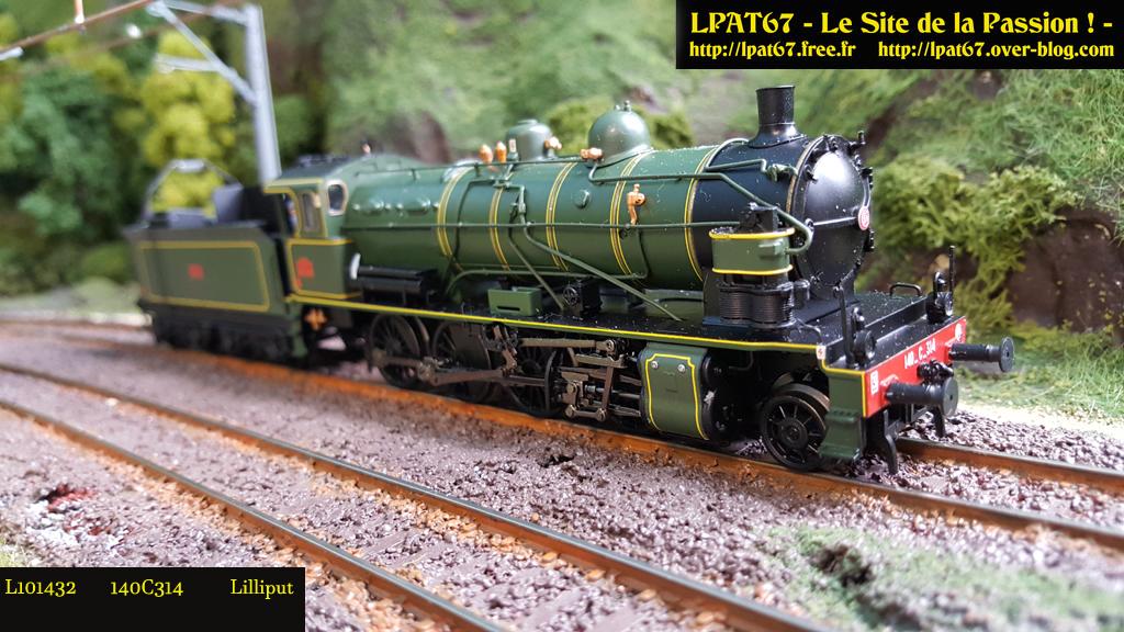 Mes locomotives à vapeur.. Lilliput 140c3110