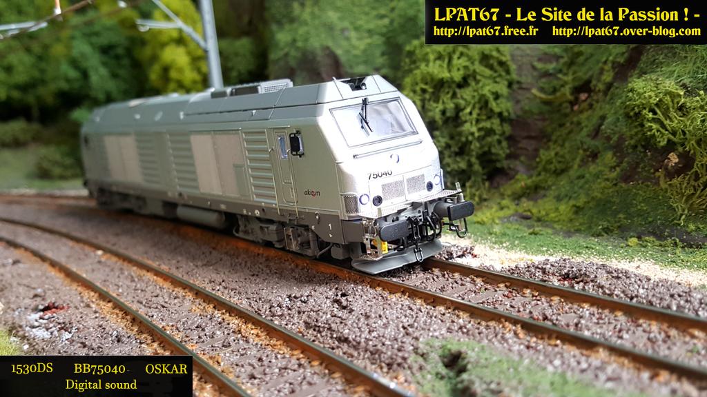 Mes locomotives diesel... - OsKar - Bb750410
