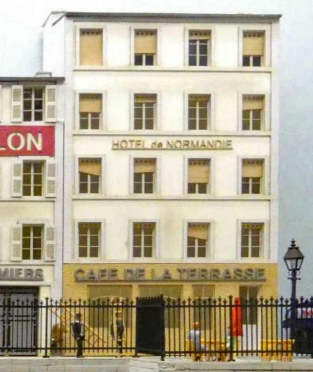 """[Architecture & Passion] café """"La terrasse"""" &""""Hôtel de Normandie"""" P1010411"""