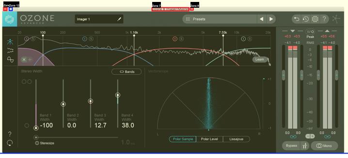 Il modello di mastering Scherm40