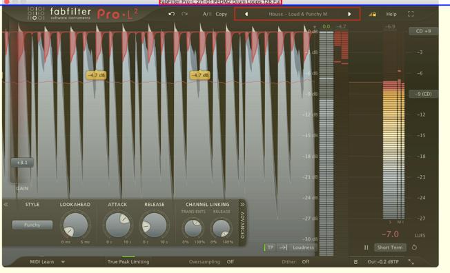 Il modello di mastering Scherm43