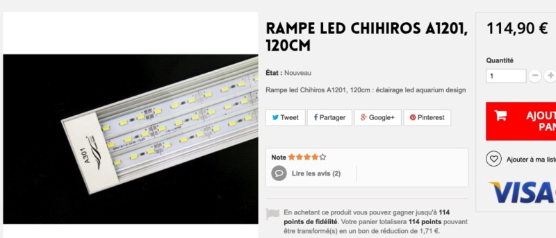 Eclairage LED Capt1520