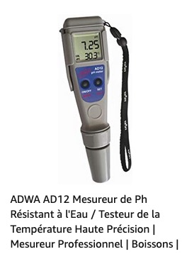 achat test ph Captu907