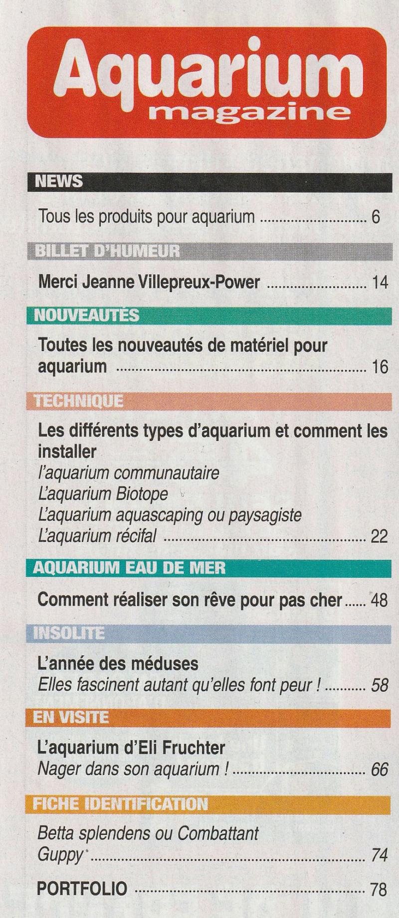 Nouveau magazine: Aquarium magazine Img_0030