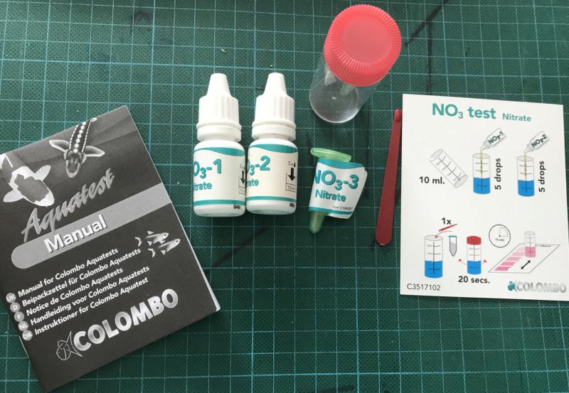 "Test du """" NITRATE  Colombo  Nitrat11"