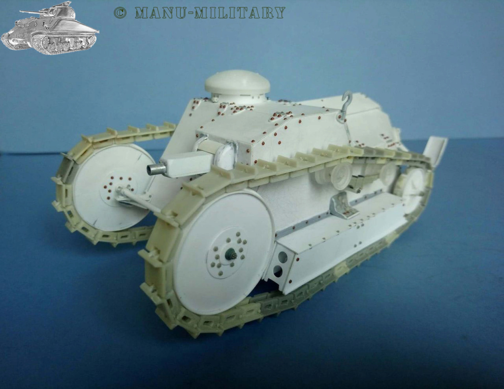 Ford 3 ton tank / Scratch intégral 1/16ème 1_111