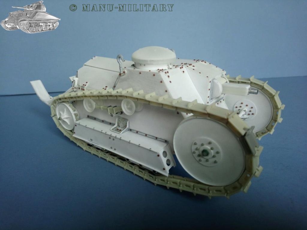 Ford 3 ton tank / Scratch intégral 1/16ème 1_211