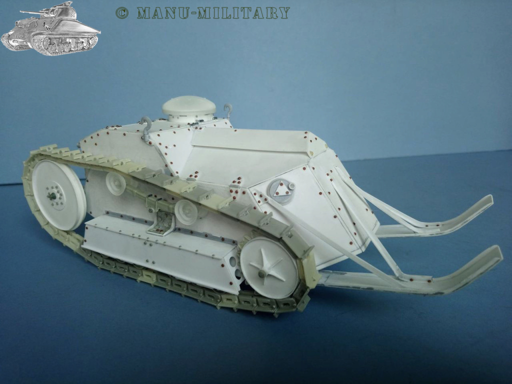 Ford 3 ton tank / Scratch intégral 1/16ème 2_211