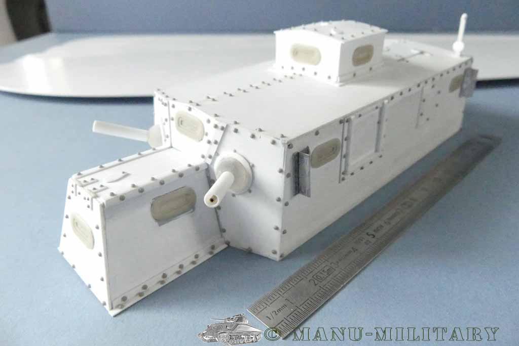 Heavy tank MkVIII, scratch intégral 1/16ème P1150114