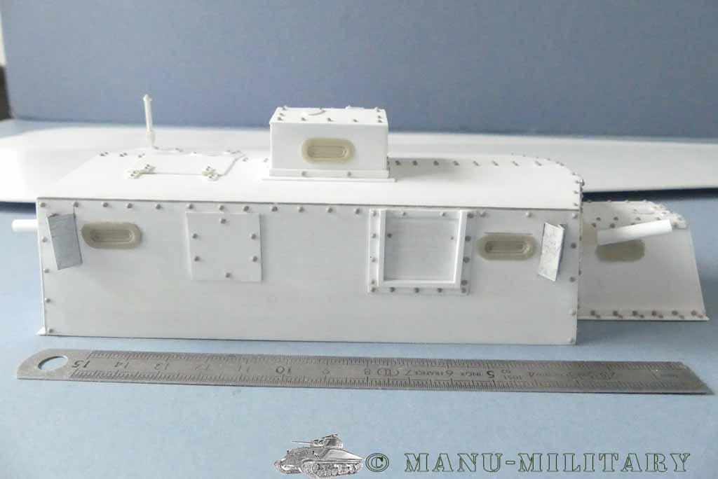 Heavy tank MkVIII, scratch intégral 1/16ème P1150118