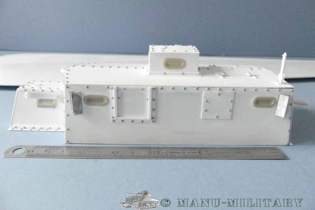 Heavy tank MkVIII, scratch intégral 1/16ème P1150119