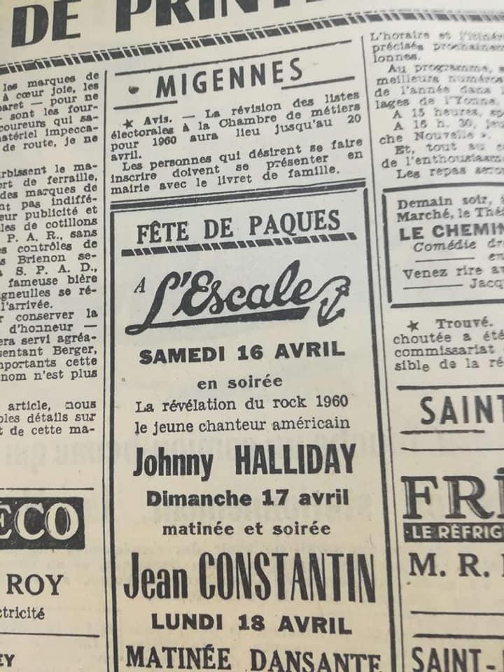 16 avril 1960 - Laroche Migennes 17474910