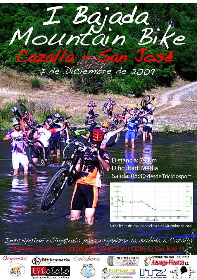 I BAJADA MOUNTAIN BIKE CAZALLA-SAN JOSÉ RINCONADA 07/12/09 I_baja10