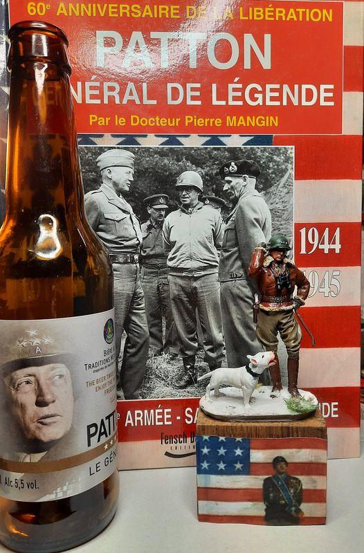 SCALE75 - FIGURINE  -GEORGE. S.PATTON - BASTOGNE 1945 - [ FINIE ] 13109810