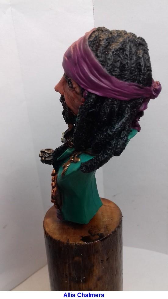 BUSTE de PIRATE sculpté par Jean-Claude-BESENYEI 20180533