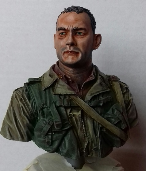 US 2nd Ranger battalion Normandy 1944 - Buste 1/10 - [  TERMINE  ] 20200710
